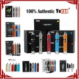 Yocan Evolve Plus Evolve Pandon Hive Magneto Torch Starter Kits Wax Pen Dry herb Vaporizers Vape Pen E-cigarette Kits