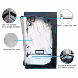 Wholesale Marshydro Hydroponic D Grow tent Waterproof black color Stock in US UK GE AU CA indoor grow box