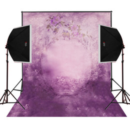 bird flowers purple cloudy wall photo background for baby newborn photography studio digital cloth props camera fotografica vinyl backdrops