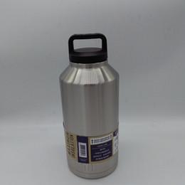 Eaux fraîches en Ligne-64oz Tasse de voyage de vase d'acier inoxydable 304 Tasse de réfrigérateur de bouteille d'eau Rambler Tasses de réfrigérateur de bière Tasse de yeti de bière