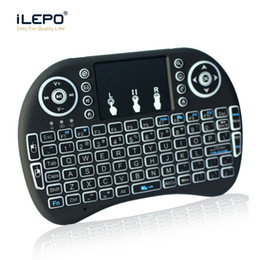 Mini Rii I8 wireless keyboard 2.4G Fly Air Mouse for Android Tv box tablet mini keyboard Remote Control with Rechargeable Li-battery