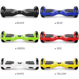 Wholesale UL US STOCK inches hoverboard Wheels Smart Balance Scooter Hover board Standing Smart Wheel Drifting Self Balancing Skateboard
