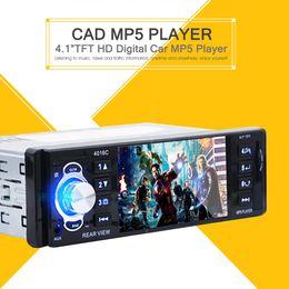 Alta calidad 4.1 pulgadas de pantalla HD Digital vehículo MP5 jugador ruso español PortugueseCar DVD FM radio USB SD AUX Interfaces coche dvd desde el jugador del sd para la televisión proveedores