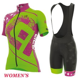 Ale mulheres ciclismo à venda-2017 ale Women Summer Cycling Jerseys Ropa Ciclismo Breathable Bike Clothing Quick-Dry Bicycle Sportwear Ropa Ciclismo GEL Pad Bike
