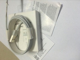 Con las cajas al por menor para la calidad original OEM cable de carga del cable del cargador de la sinc. De los datos del USB del 1m los 2m para el iPhone 7 6 5 iphone cables charges for sale desde cargos cables iphone proveedores