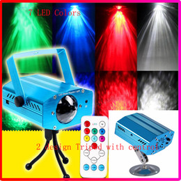 Wholesale New Christmas W RGB LED Water Wave Ripple Effect Stage Party Light lighting Laser Projector with Mini Tripod for Party Show