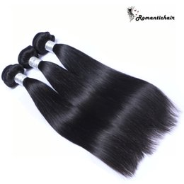 9A Grade Virgin Brazilian Straight Hair Peruvian Indian Malaysian Hair Bundles Natural Color Human Hair Extensions 8-30 inch Double wefts