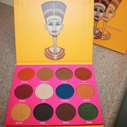 Wholesale The Nubian nd Edition Palette Eyeshadow palette by JUVIA S PLACE Makeup Palette