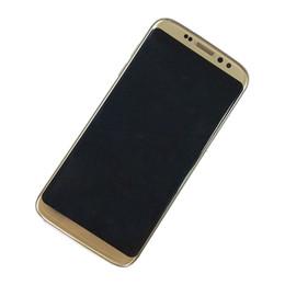 Pouces 1gb en Ligne-Goophone S8 bord 5,5 pouces Android6.0 Téléphone Quad Core 1 Go + 8 Go montrent faux 64 Go Unlock vs S7 S7 EDGE