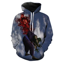 Free Shipping US Size M-5XL High Quality The New Autumn and Winter New Men's Custom 3D Characters Printed Long-sleeved Hoodie Sweater