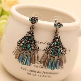 Manufacturers direct sales of European and American fashion jewelry, Ms. fine earrings ear pendant, support mixed batch, free shipping.
