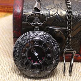 Collar de cadena largo P427C del reloj de bolsillo noble blanco retro negro retro de la antigüedad del bronce de la vendimia-Venta al por mayor pin chain necklace deals desde collar de cadena pin proveedores