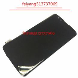Original For Lg K8 K350N K350E K350DS K350 LTE 4G Lcd Display Touch Glass Digitizer Frame Assembly black white