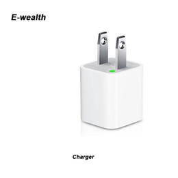 Metal USB wall Charging Charger US EU 1A AC Power Adapter Wall Charger Plug port for Iphone Samsung Galaxy Note LG Tablet Ipad