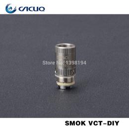 La electrónica de apv en Línea-Bobina original al por mayor de Smoktech DIY del 100% para el cigarrillo electrónico de la bobina de 0.4ohm Smok del vaporizador de Smok VCT GCT Accesorios del cigarrillo electrónico