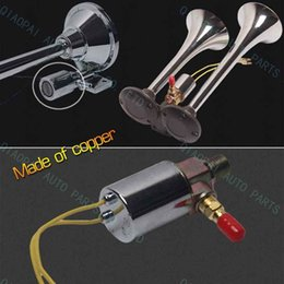 Wholesale Copper Apply for all air horn V V Metal Auto Air Horn Electric Solenoid Magnetic Valve for Train Truck retail
