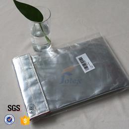 Sacs ignifuges à vendre-Money Cash Fireproof Pouch Cadeau de Noël Logo personnalisé 1022degree Fire Resistant Safe Guard Pocket File Enveloppe Document Sacs