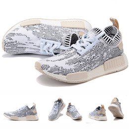 Wholesale With Originals Box NMD Runner PK Primeknit Glitch Camo Yellow Gold Camo Nomad S42131 Sneakers Men Women Baby Kids Sports Running Shoes