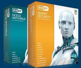 ESET Smart 10 NOD32 9.087 antivirus antivirus card for 3 years in