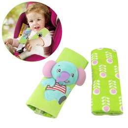 Wholesale Baby Children Car Auto Safety Seat Belt Soft Harness Shoulder Pad Cover Children Protection Covers Cushion Support Seat Cushions