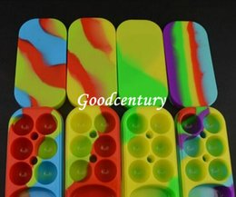 Wholesale Wax Containers Jars big Silicone jars container silicone contianer for wax silicone jars container electronic cigarette dab Silicon Box