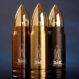 Acheter en ligne Eaux fraîches-Cool Acier inoxydable Bullet Vacuum Flasks Tasse de voyage isolant 12h 350ml Winter Thermos Coupe Bouteilles d'eau