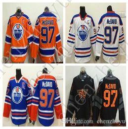 Wholesale 2016 World Cup North America Ice Hockey Jerseys Black Edmonton Oiler Connor McDavid Jersey Men Fashion Best All Stitched Quality