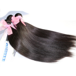 Brazilian Hair Weave Cuticle Natural Color Malaysian Indian Peruian Hair Bundles Straight 8-30inch Unprocessed Human Hair Extension