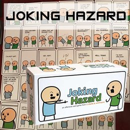 Wholesale Joking Hazard an offensive Card Games Adults Party game For Adults By Cyanide And Happiness zorn toys