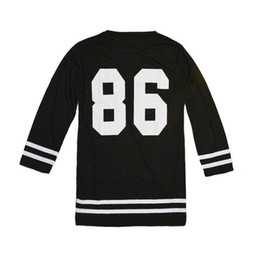 T-shirt manches courtes à manches longues O-Neck 86 86 baseball dress deals à partir de 86 baseball dress fournisseurs