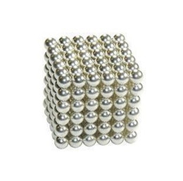 Wholesale 216 Diameter mm Silver The Neocube neodymium Toy Neo Cubes Puzzle Cube Toy Sphere Magnet Magnetic Bucky Balls Buckyballs