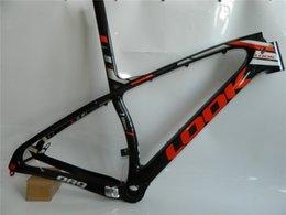 Wholesale Chinese Carbon Mtb Frame - 2016 27.5 29er chinese carbon frames 650b 15 17 19 21 inch 29 carbon mountain bike frameset EMS shipping carbon mtb frame