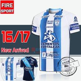 Wholesale 2016 Best Quality Mexico CLUB Pachuca Los Tuzos Home Soccer Jersey Maillot de foot Chivas unam pumas America Football shirts