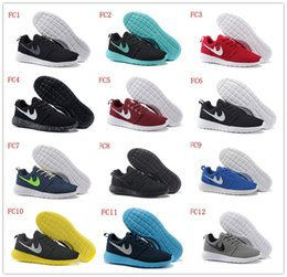 Wholesale Roshe Run Running Shoes Men Women London Olympic Athletic Outdoor Rosherun lightweight Breathable Sneakers Roshe Run Sports Boots