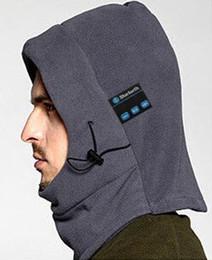 Wholesale Winter Warm Outer Multi Function CS Bluetooth Caps Hat Mask Neckerchief Bluetooth Hood Snowproof Caps