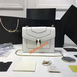 Wholesale New Fashion Women Shoulder Bag Spring Fashion show same type Jewelry Serpenti Series Bag Genuine Leather Cross body bag