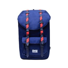 2017 New Arrival Wholesale Price Sacs à dos Herschel Noir / Bleu / Blanc / Rose / Gris High Fashion Limited SportOutdoor Packs Gratuit Shiipping à partir de fabricateur