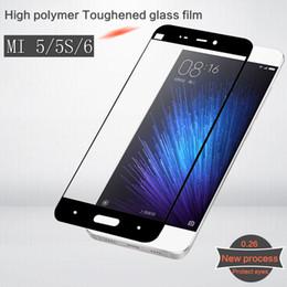 XIAOMI5 MI5S MI6 MI5plus Tempered Glass Protective Film Premium screen Protector film Mobile phone 9H 2.5D Toughened Membrane For