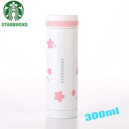 300ml starbucks famous coffee brand logo water thermos cups glass my bottle kettle lover children mug