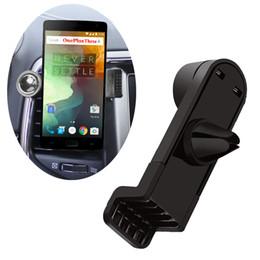 2016 vent mount gps Vente en gros de voiture Air Vent Mount Holder pour GPS Movil Suporte Para Celular pour Oneplus 3 A3000 2 1 Stand Support pour One Plus 3T Phone Holder vent mount gps ventes