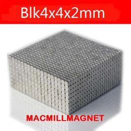 2016 Brand New Super Strong Rare-earth Neodymium Permanent Magnetic block 100pcs 4x4x2mm, Free Shipping