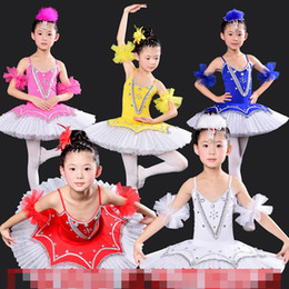 New Girls Classical Ballet Tutu Dress Children Swan Lake Ballet Costume Kids Performance Ballet Dance Dress