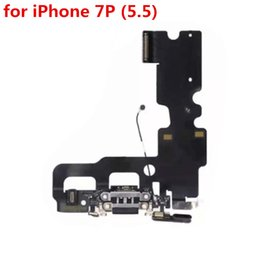 100% High Quality for iPhone 5 5C 5S 6 6S 7 Plus Charger Charging Dock Port Flex Cable Black White Gray (901IP)