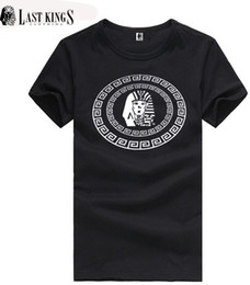 2441 s-5xl fashion last kings mens Casual t shirt lk hip hop short sleeve man clothing tops