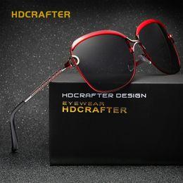 2017 gafas de sol púrpura Nuevas gafas de sol polarizadas para las mujeres de las gafas de sol de la mujer negra marca de fábrica para la venta gafas de sol púrpura en venta