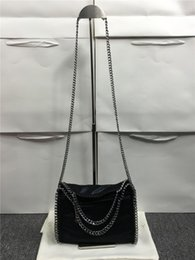 Wholesale Best quality shaggy deer falabella shaggy deer crossbody fold over luxury tote bag size25 cm