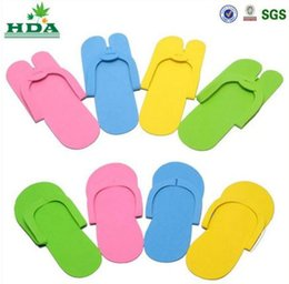 Wholesale baby kids Slippers HOT Disposable Slipper EVA Foam Salon Spa Slipper Disposable Pedicure thong Slippers Beauty Slippers