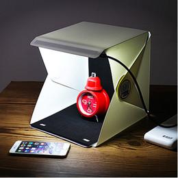 Light Room Photo Studio Éclairage de photographie de 9 po Kit de fond de fond Cube Mini Box DHL Livraison gratuite à partir de photo boîte de tente fournisseurs