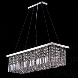 Length 100cm Modern Crystal Color LED Pendant Light Ceiling Lamp Chandelier Lighting Freeshipping