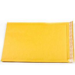 Burbuja de papel kraft en venta-270mmx200mm / 270mmx180mm / 270mmx160mm destructivo abierto auto-sellante poli burbuja Kraft papel envoltorio maletín bolsas